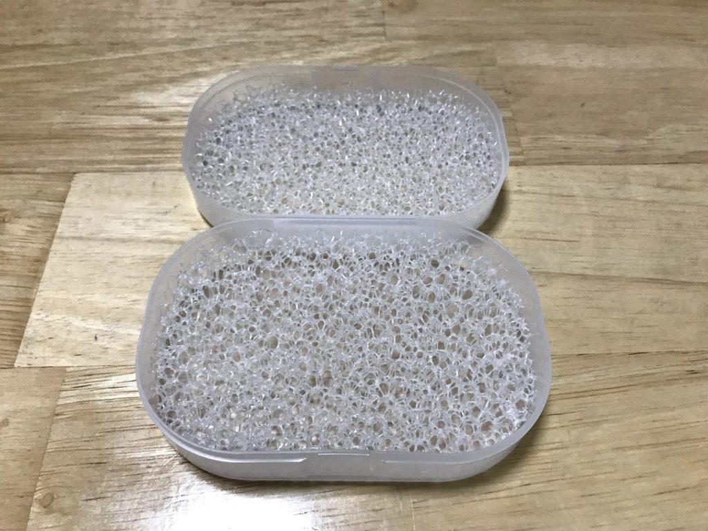 石鹸置き開いた状態