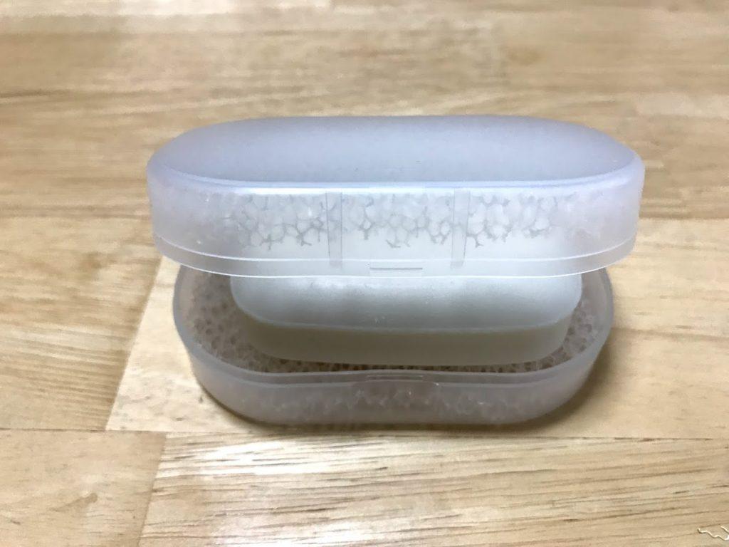 石鹸置き閉まらない