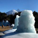 西湖の樹氷
