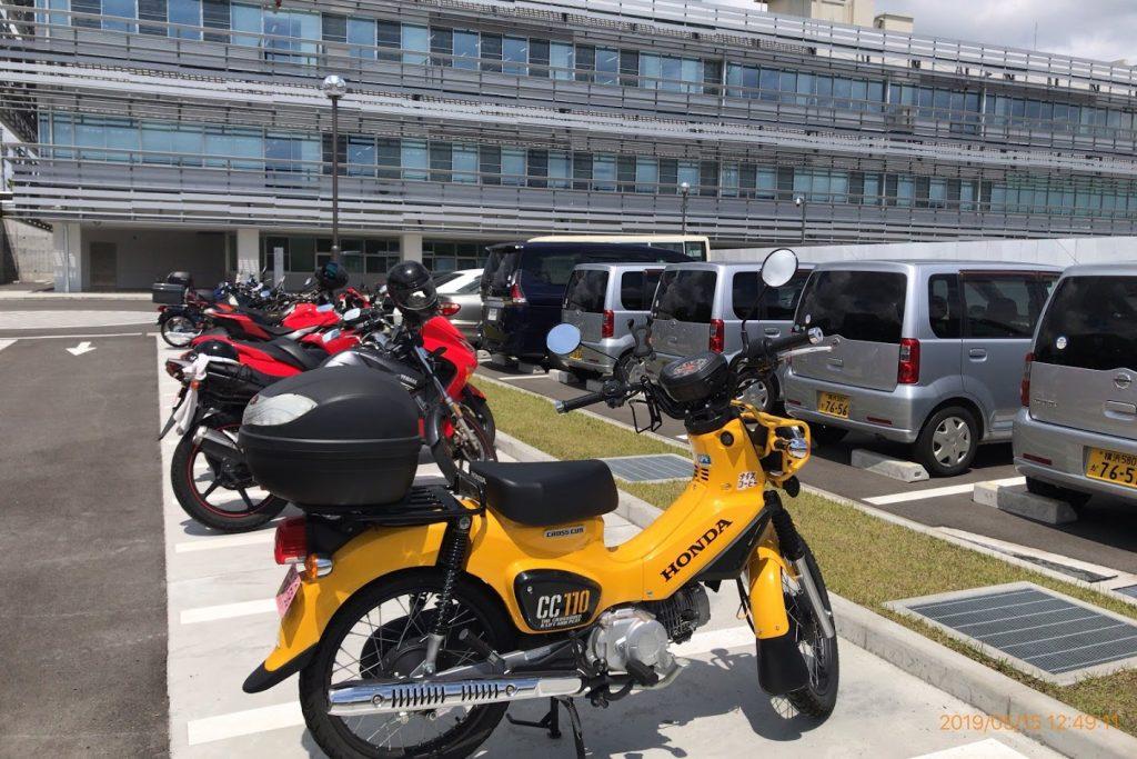 二俣川運転免許センター2輪駐車場
