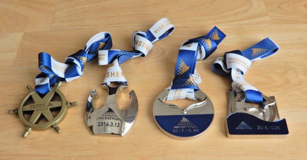 横浜マラソンメダル