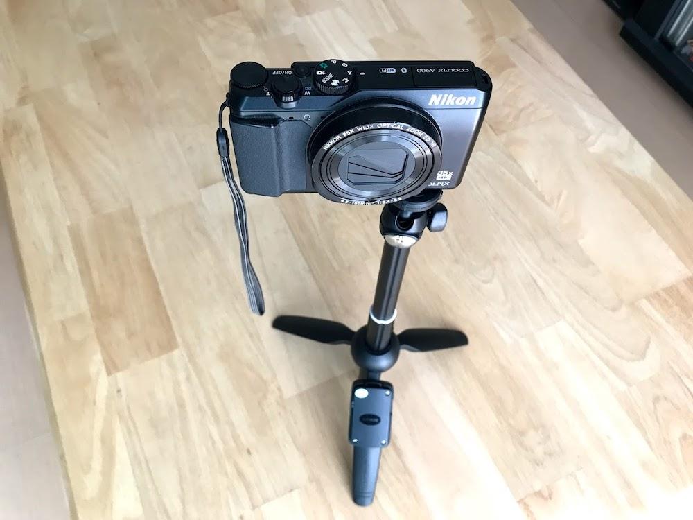 Nikon COOLPIX A900を取付