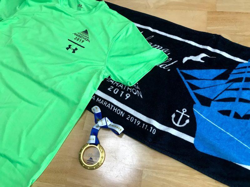 横浜マラソン2019グッズ