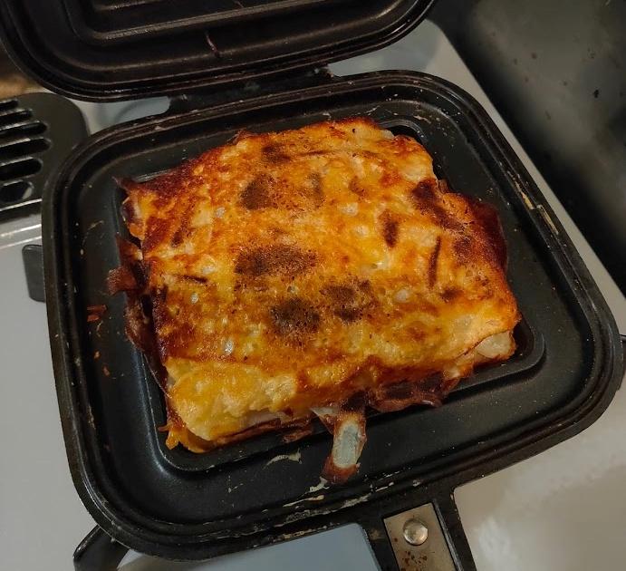 じゃがいもスライスチーズ焼き上がり
