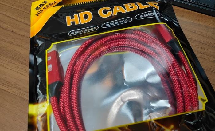 DP-HDMIケーブル