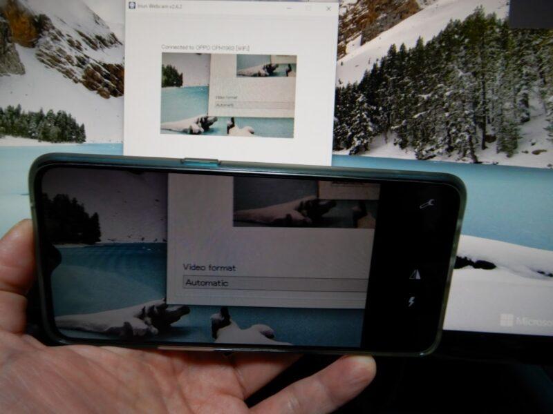 PC画面を映した画像